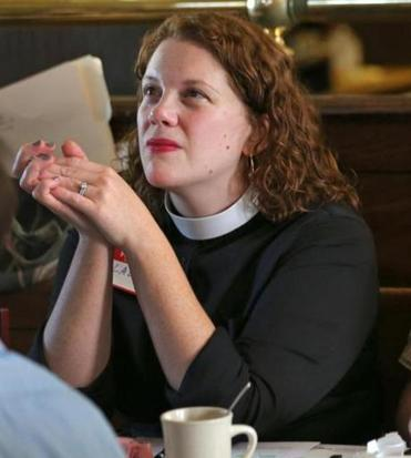 The Rev. Laura Everett.